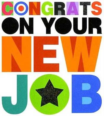 New Job Congratulations Card Carol Michalski Lifecoach